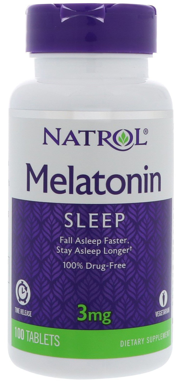 Amazon.com: Natrol Melatonin 1 Mg Time Release (1x90 TAB): Health ...