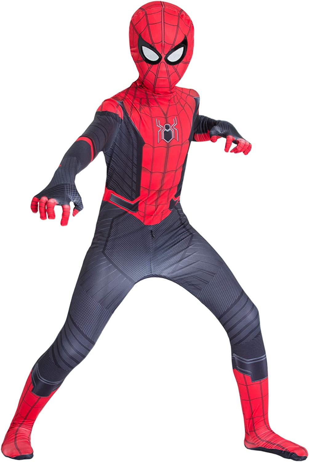 Superhero Costume for Kids,Far from Home Cosplay Costumes for Boys