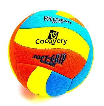 Cocovery19 Balón Voley-Playa Colores neón (Amarillo): Amazon.es ...