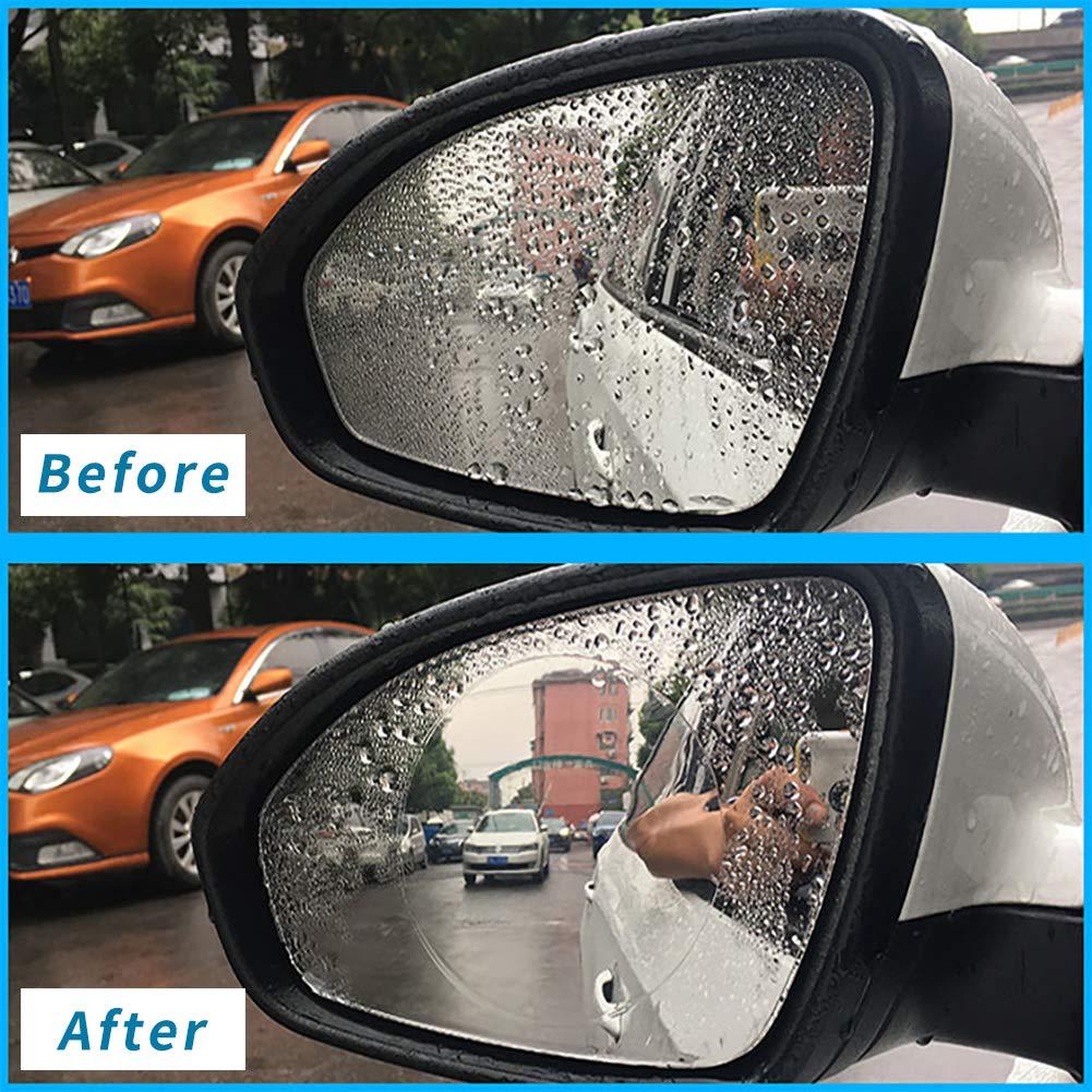 Mirror Protector Film Car Rearview Accessories XTA Anti Fog Film,Car Rearview Waterproof Anti-Mist Anti-Dazzle,Mirror Rainproof