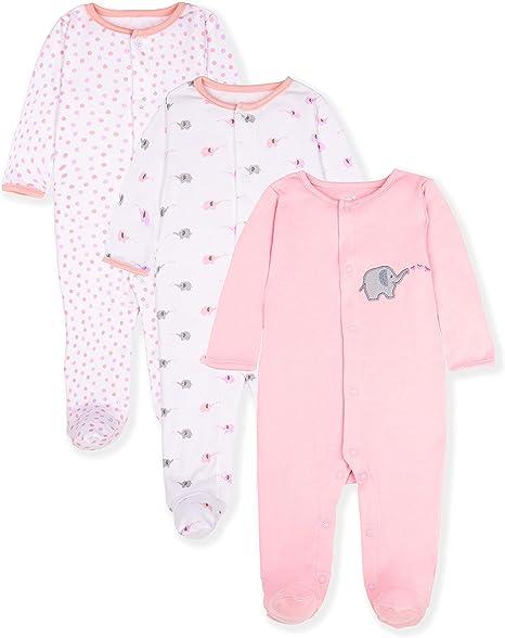 Gerber Baby Unisex 2 Pack Sleep N Play Size 3-6 Months NEW Elephant Design