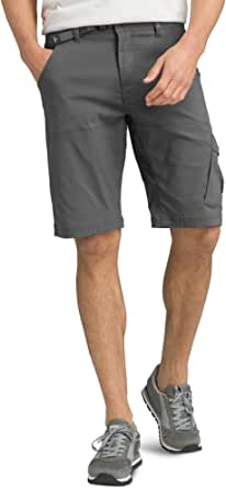 prAna - Men's Stretch Zion Lightweight, Water-Repellent Shorts for Hiking and Everyday Wear