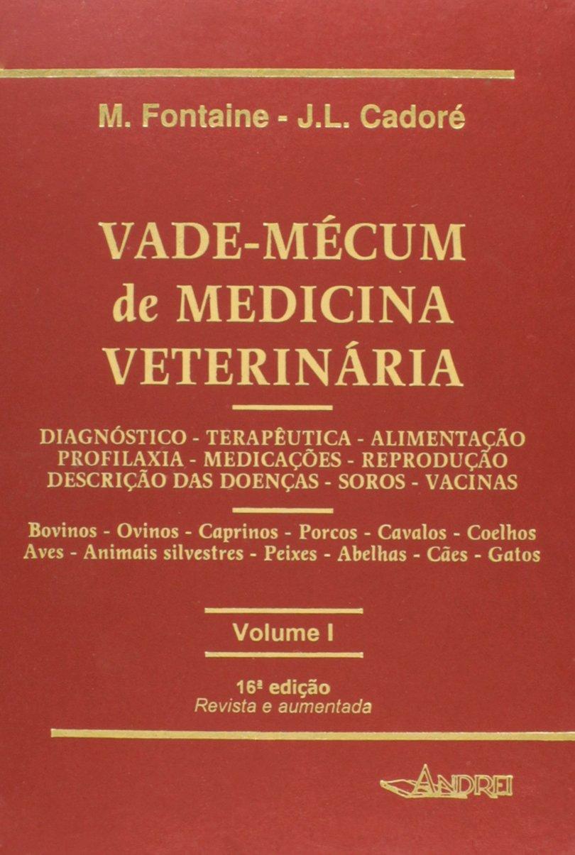 Vade-Mécum de Medicina Veterinária - 2 Volumes: M. Fontaine: 9788574762722: Amazon.com: Books