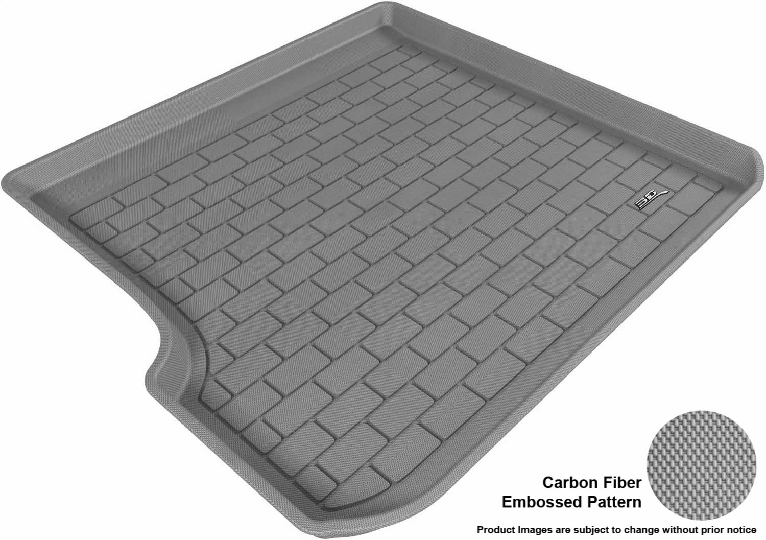 Models Tan 3D MAXpider Custom Fit All-Weather Cargo Liner for Select BMW X3 E83 Kagu Rubber