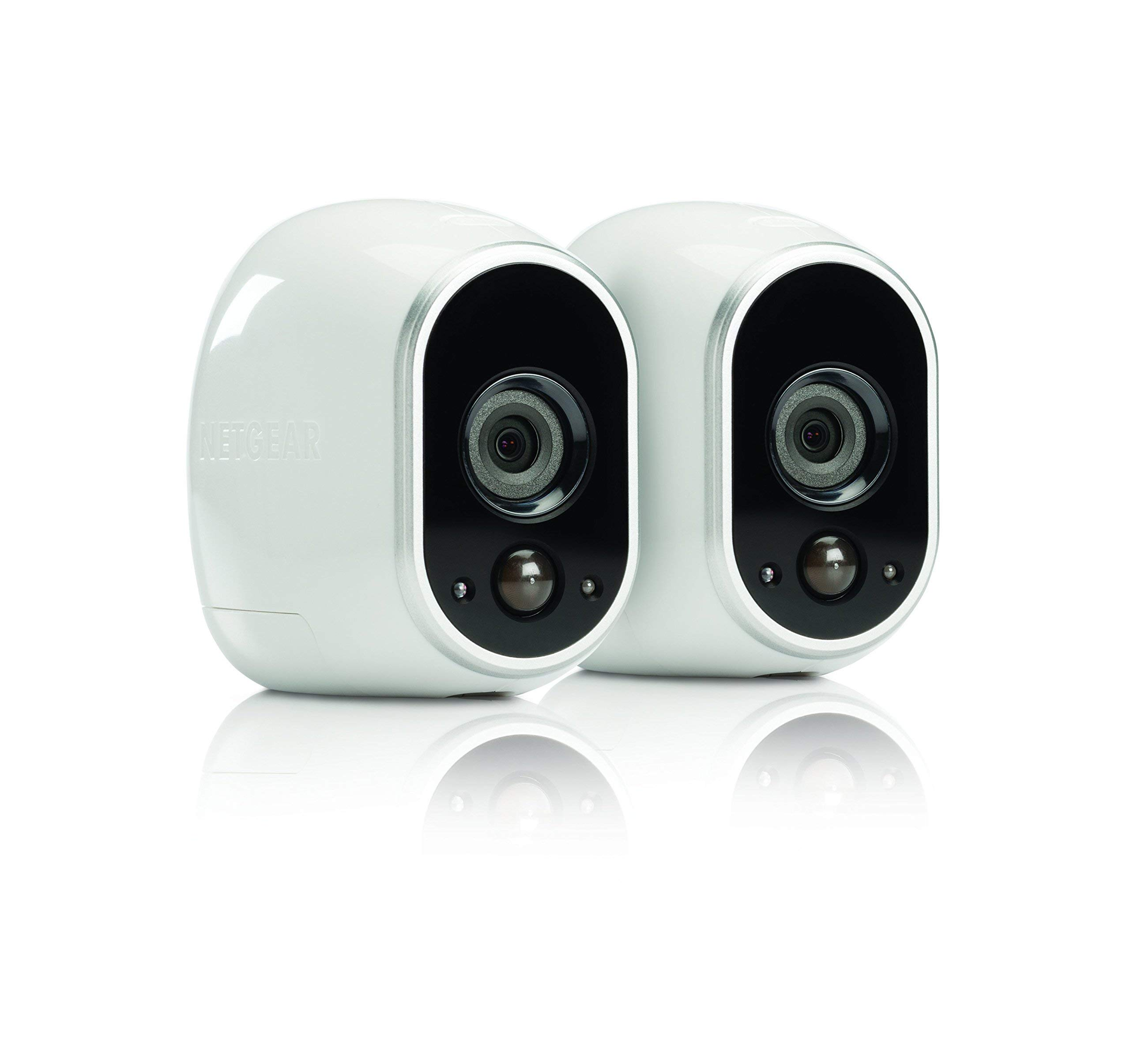 Netgear Arlo Smart Security - 2 HD Camera Security System,Wire-Free, Indoor/Outdoor with Night Vision (VMS3230) (VMS3230 (Renewed) by NETGEAR