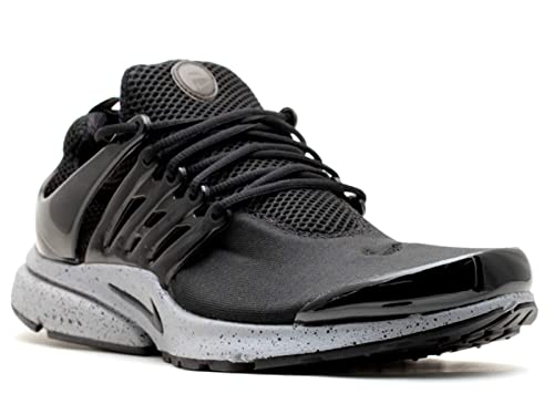 new product 66ef5 397eb Nike Mens Air Presto SP Genealogy Pack Black Black-Cement Grey Fabric  Running,