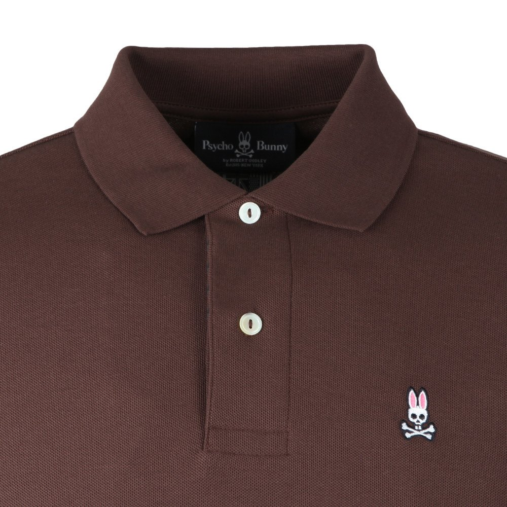 Psycho Bunny Mens Classic Polo Shirt