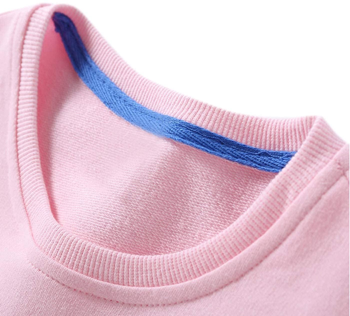 Boys Girls Cotton Pullover Christmas Sweatshirts Crewneck Sweater Tops Bear and Snowflake Printed 2-6T