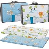 Reisebettmatratze TRAVEL 120x60cm (+Tragetasche) für Baby Reisebett / Kinder Bett