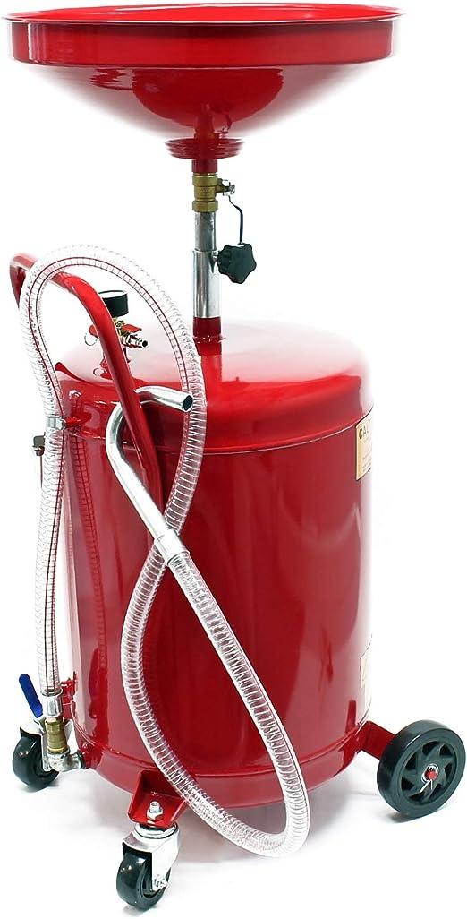 Ölauffanggerät Für 80l Höhenverstellbar 122 183 Cm Mit 4 Rad Fahrwerk Entleerung Mittels Luftdruck Auto
