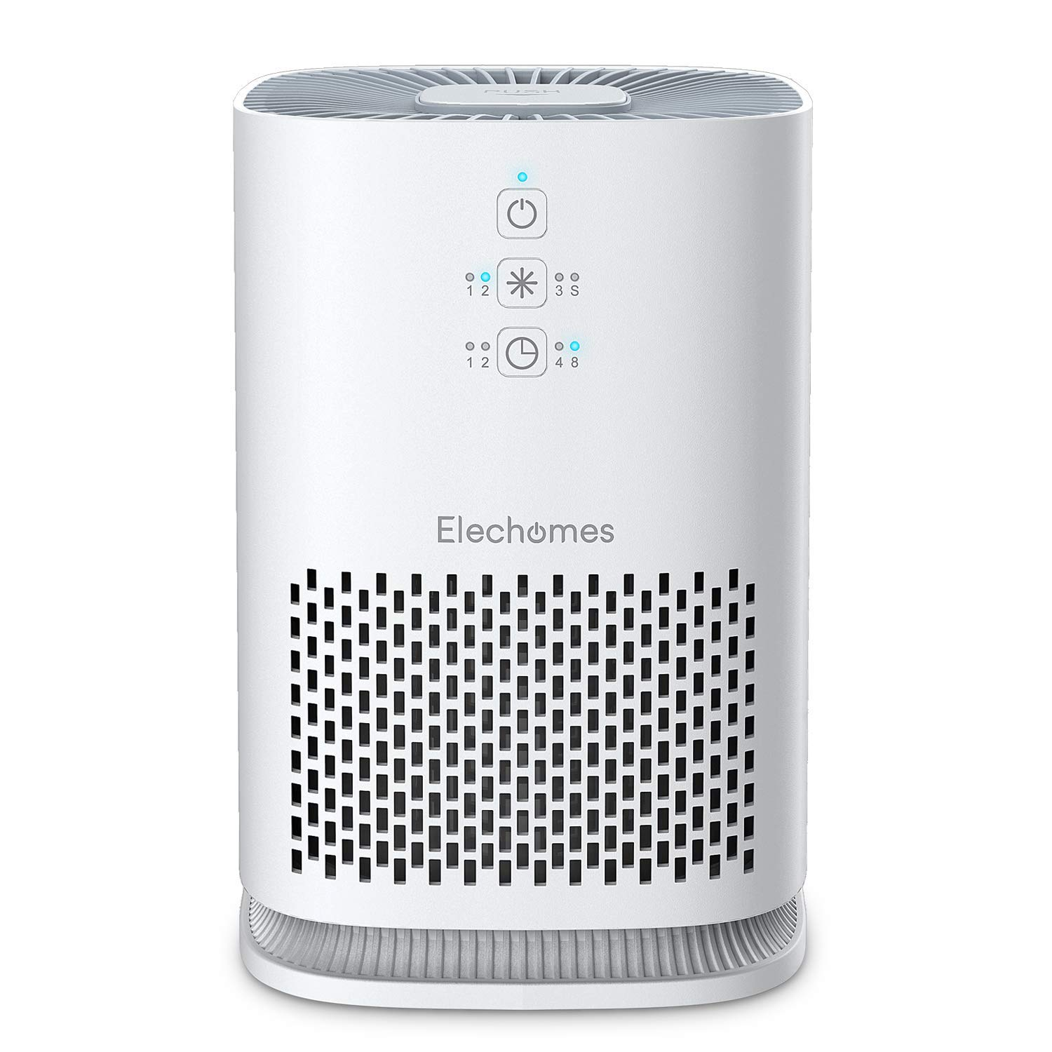 ELECHOMES Air Purifier for Home with True HEPA Filter, Air Cleaner Purifiers for Allergies and Pets Smokers Pollen Dust, Odor Eliminators for Home Bedroom