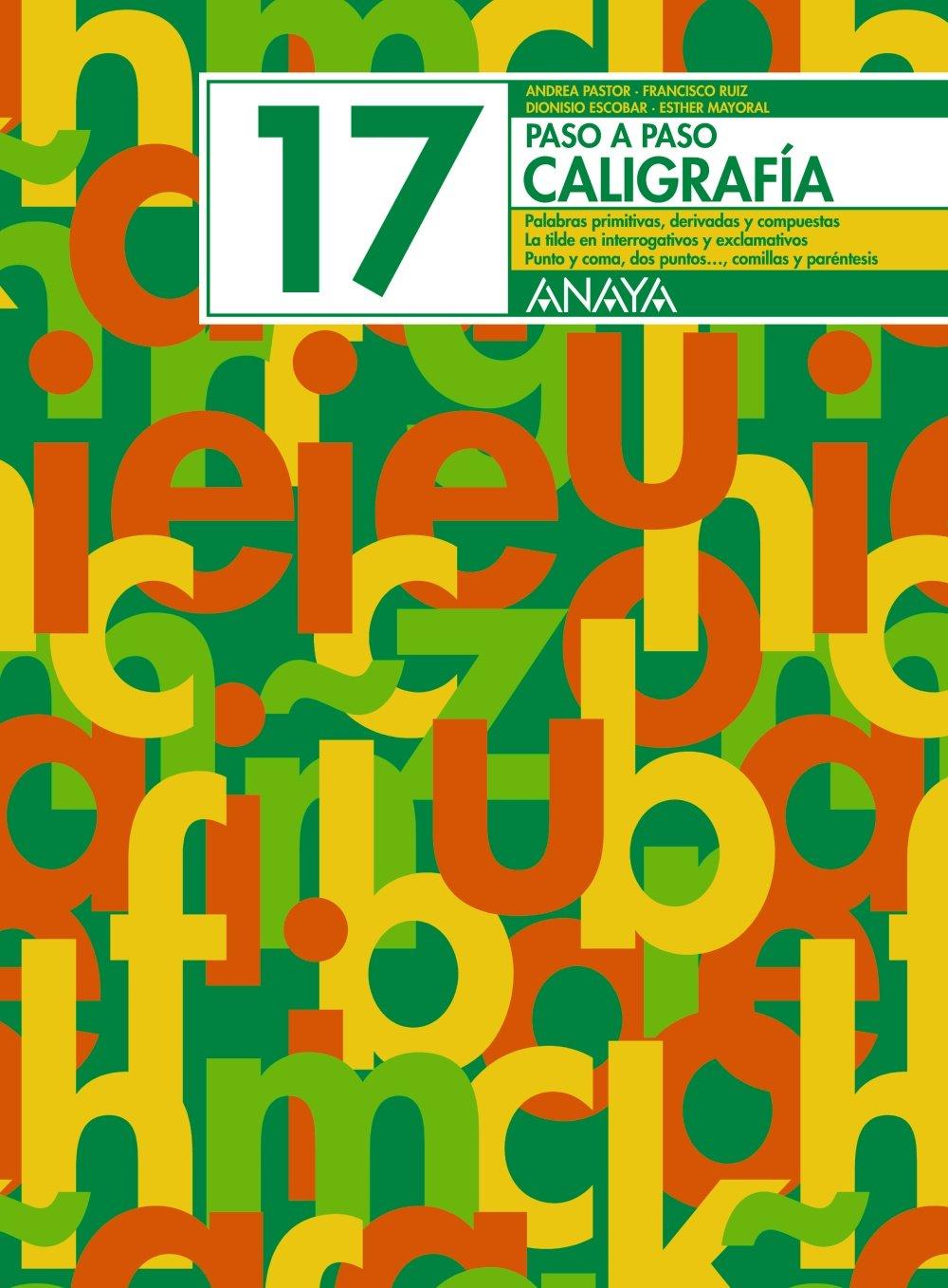 Caligrafía 17 pdf