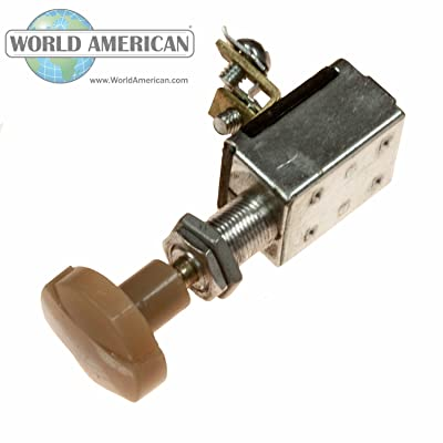 World American WA06-7014 Heavy Duty Heater Switch: Automotive