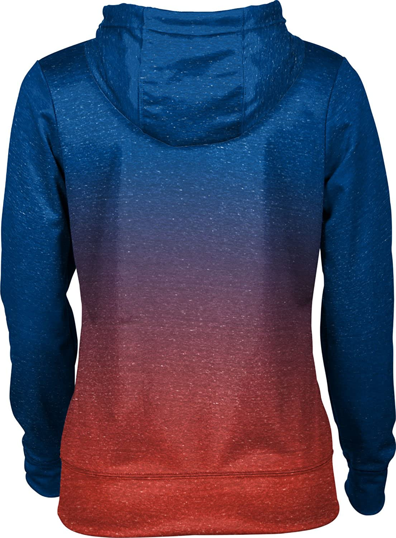 ProSphere Kingsborough Community College Girls Zipper Hoodie School Spirit Sweatshirt Ombre