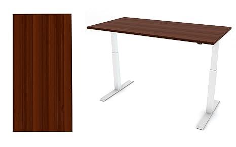 Scrivania Ufficio Piccola : Smart ergo flair altezza regolabile scrivania telaio bianco