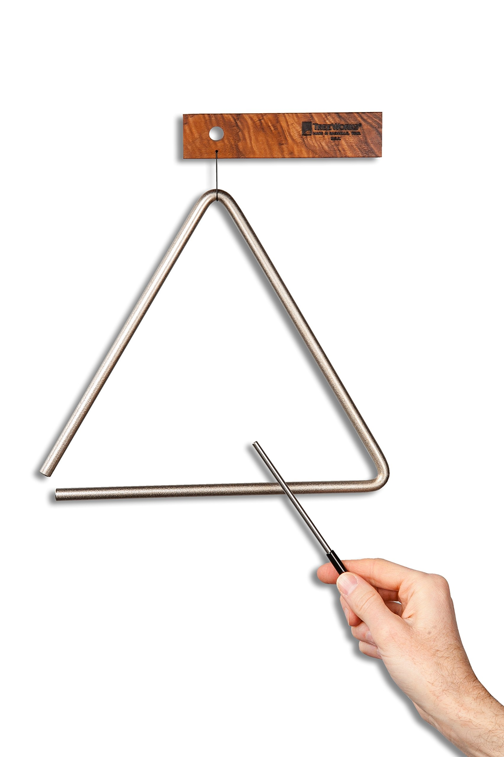 Treeworks Chimes Triangle, inch (TRE-HS08) by TreeWorks Chimes