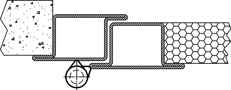 Anschweissband H/öhe: 120 mm Schwerlast-Scharnier mit Tragkraft 200 kg 2 St/ück MADE IN GERMANY Gedotec Anschwei/ßscharnier Stahl Anschwei/ßb/änder f/ür Metall-T/üren T/ürscharnier f/ür Gartentore