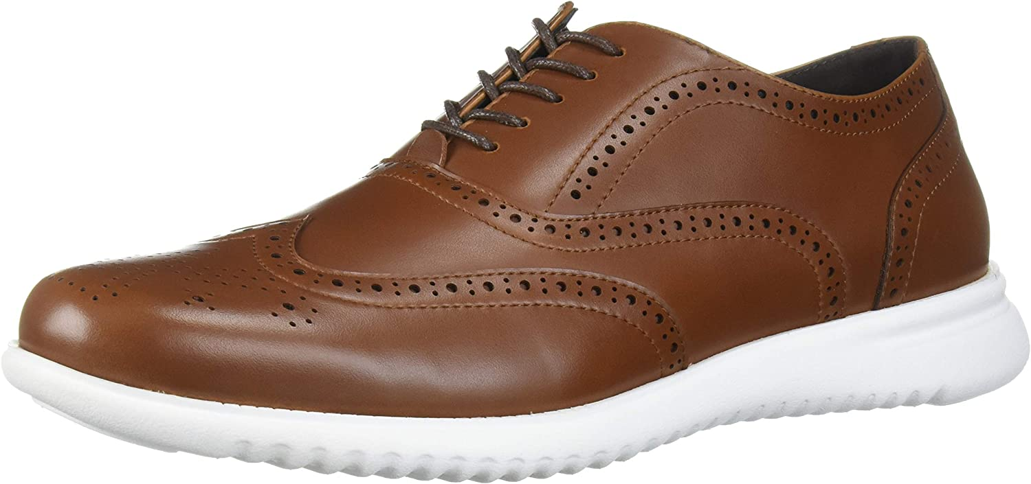 Unlisted by Kenneth Cole Mens Nio Hybrid Wing Lace Up Oxford