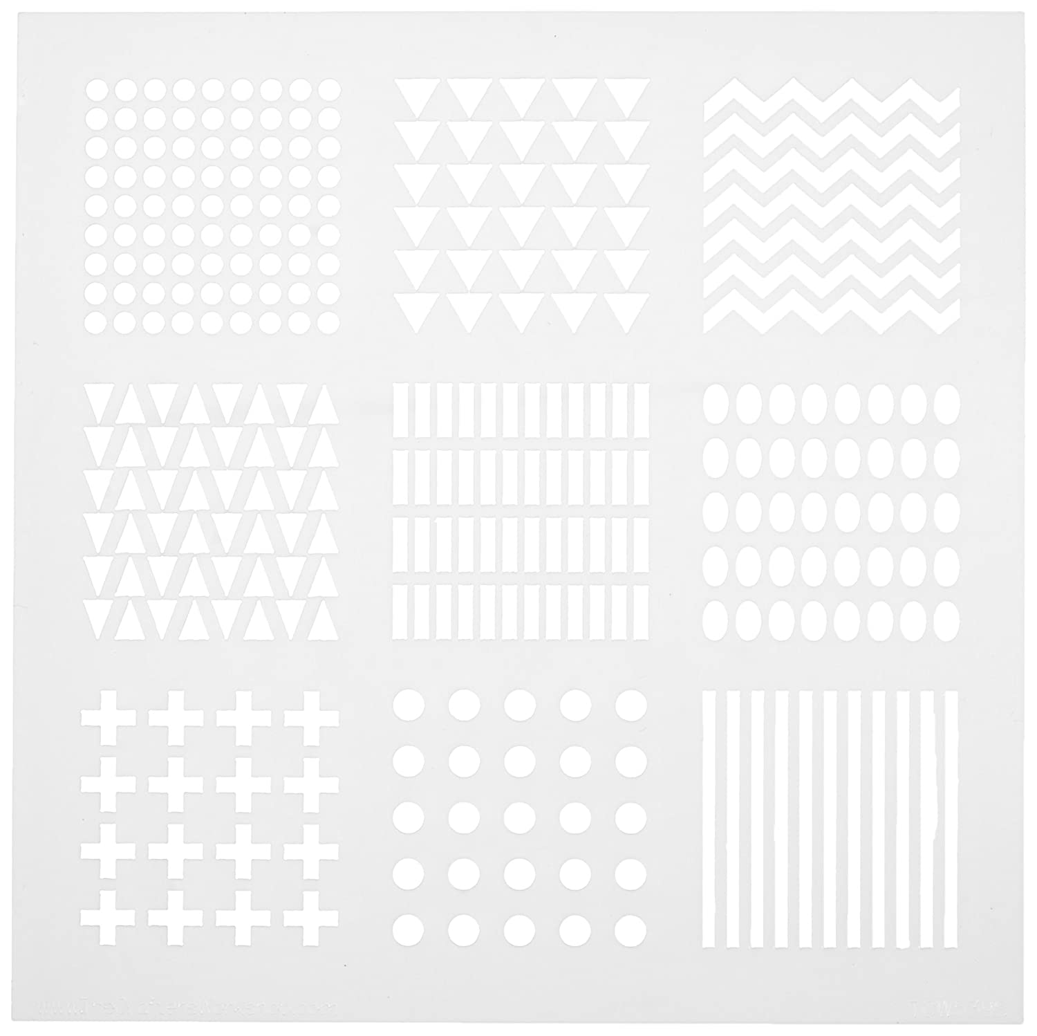 Crafters Workshop Bible Journaling Stencil-Patterns (6 X 6) Luscombe TCW6X6-539 Non-Classifiable