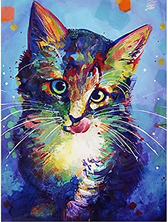12x12 Inches DIY 5D Diamond Painting Kits for Adults Round Full Drill Kids Crystal Rhinestone Embroidery Paintings gem Arts Craft Home Wall Decoration Perfect Gift