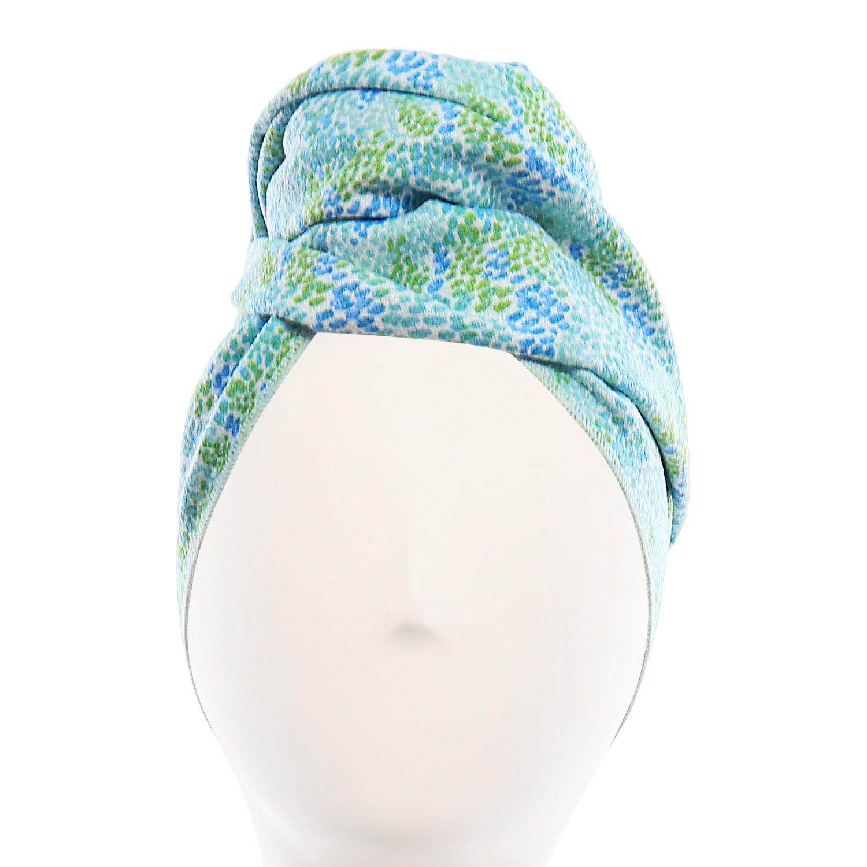 Aquis - Original Hair Towel, Ultra Absorbent & Fast Drying Microfiber Towel For Fine & Delicate Hair (Matisse)