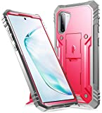 Galaxy Note 10 Rugged Case with Kickstand, Poetic Heavy Duty Military Grade Full Body Cover, Without Built-in-Screen…