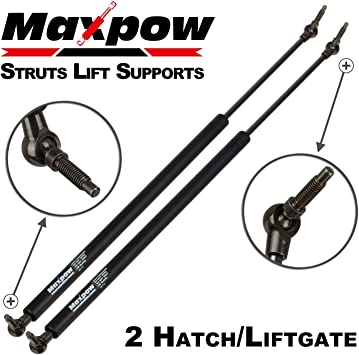 2 BOXI Liftgate Gas Charged Lift Supports Struts Shocks Dampers For 1998-2003 Dodge Durango Liftgate SG214018,4290,55256444 Qty