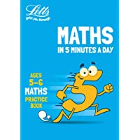 Letts Maths in 5 Minutes a Day Age 5-6