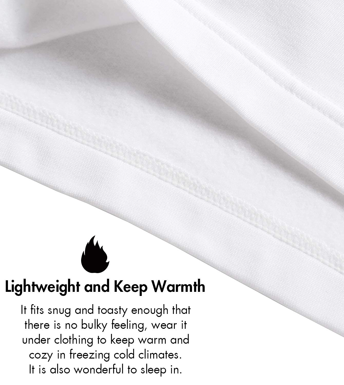 LAPASA Boys Thermal Underwear Long John Set Winter Base Layer Top and Bottom B03