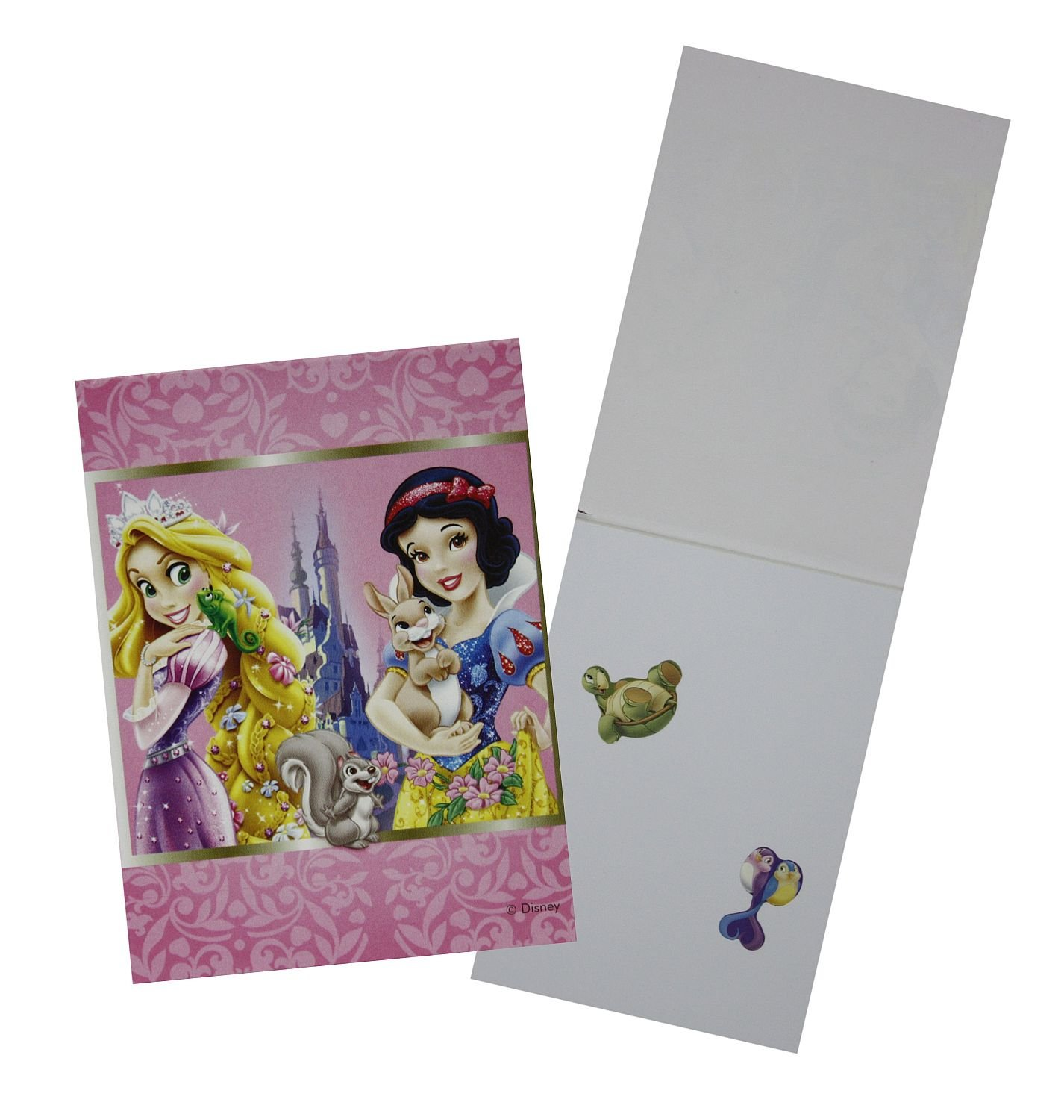 Unique Party 71920 4 Sets Disney Princess and Animals Activity Packs Party Bag Fillers