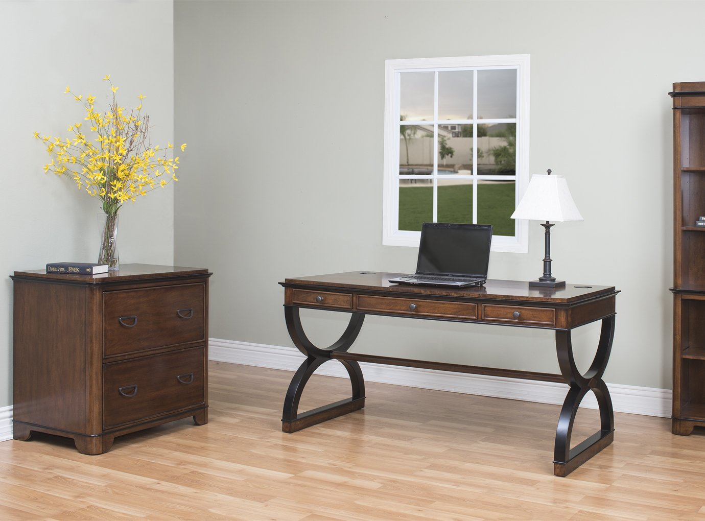 kathy ireland Home by Martin Kensington Lateral File - Fully Assembled