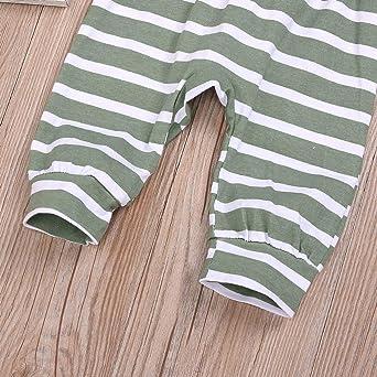 Hattfart Newborn Baby Boy Girls Infant Rompers Jumpsuit Outfits Clothes Short Sleeve Gentleman Solid Striped Jumpsuit Romper