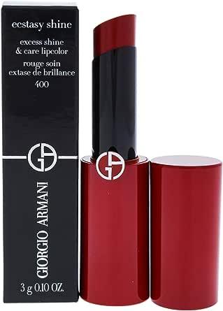 Giorgio Armani Ecstasy Shine Lipstick - 400 Four Hundred, 3 g