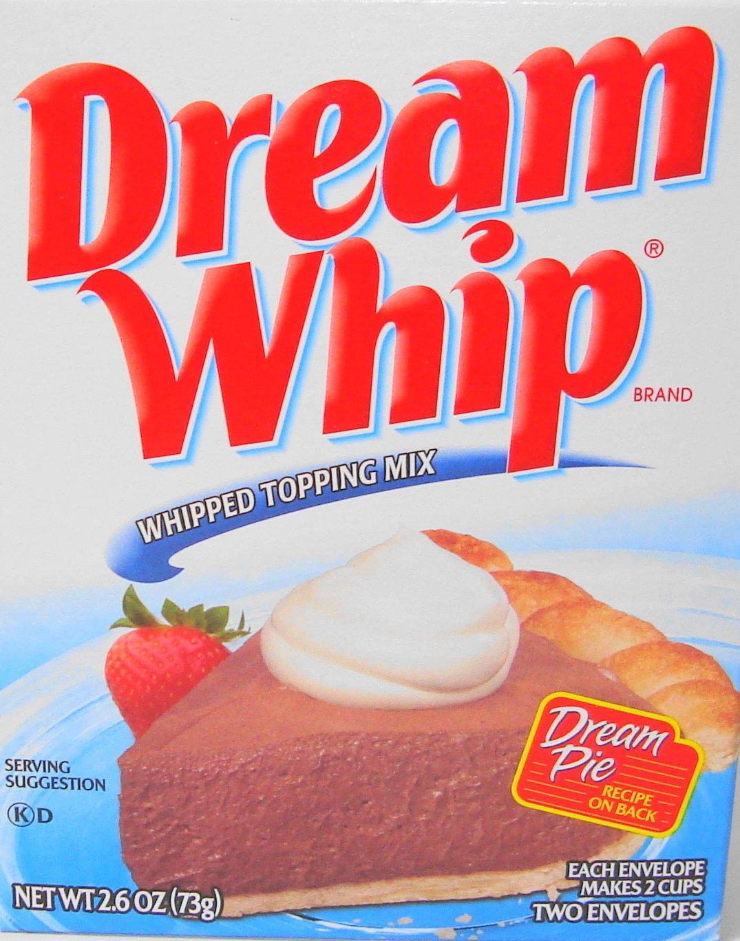 Dream Whip - Mezcla batida (paquete de 2): Amazon.es: Alimentación y bebidas