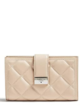 Guess Luxe - Cartera para Mujer, Color Carne (Beige) - SWVENPL8449: Amazon.es: Equipaje