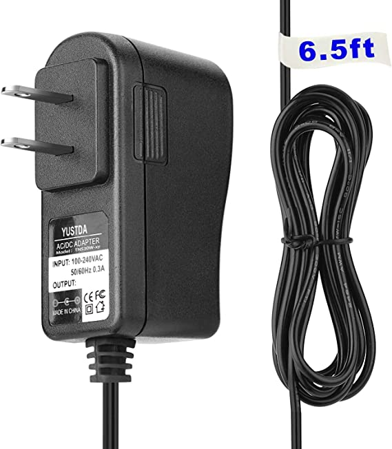 YUSTDA 6-Volt AC/DC Adapter Compatible with ProForm 235 CSX Indoor Recumbent Exercise Bike Stationary Cardio Fitness Bicycle Pro-Form 235CSX PFEX52715 6V Power Supply 4-D Battery Charger