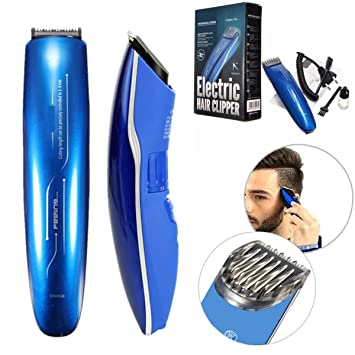 Hair Clipper Electric, LuckyFine, Electric Shaver Razor Beard Hair Grooming  Trimmer, Rechargeable Hair