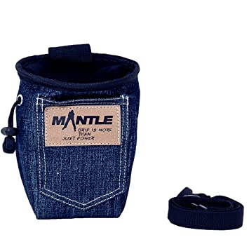 Mantle Kletterzubehör Chalk Bag - Bolsa de magnesio para Escalada, Talla One Size: Amazon.es: Deportes y aire libre