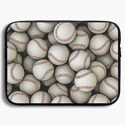 Amazoncom Laptop Sleeve Bag Cool Baseball Seamless Art Briefcase