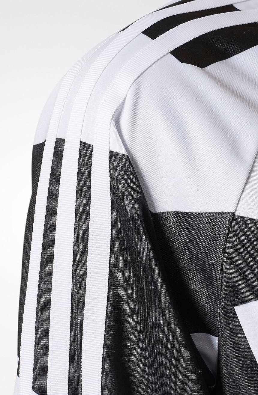 38c2ce4239c Amazon.com: adidas Womens Bold Ages Track Jacket Black White Womens M:  Sports & Outdoors