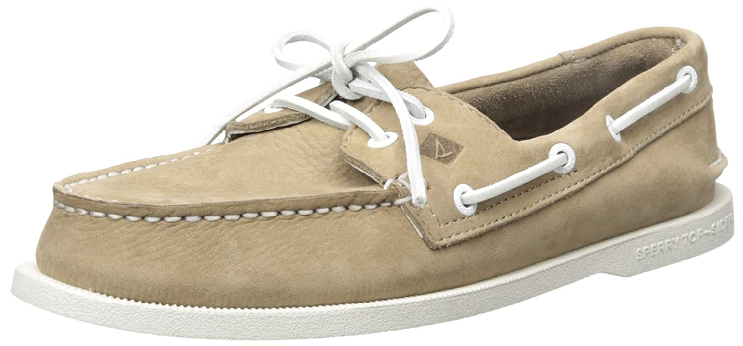 Sperry a/O 2-Eye Washable, Náuticos para Hombre 42 EU|Beige (Taupe)