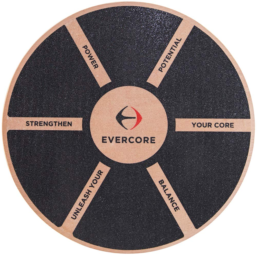 Evercore Balance Board – Core Stability Support – 15.5 in – Improve Athletic Performance, Increase Balance and Coordination, Support Rehab and Injury Prevention