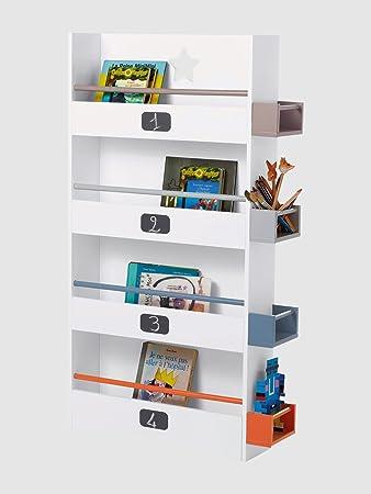 vertbaudet Bücherregal fürs Kinderzimmer weiß: Amazon.de: Küche ...
