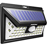Mpow 40 LED Solar Lights Bright Garden Lights Motion Sensor, 3 Optional Lighting Modes, Large Solar Panel Weatherproof, Great Outdoor Lights for Garden, Driveway, Yard, Pathway and Patio