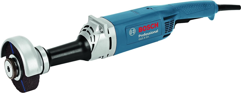 Bosch Professional GGS 8 SH - Amoladora recta (1200 W, 8000 rpm, Ø máx. de muela abrasiva 125 mm, en caja)