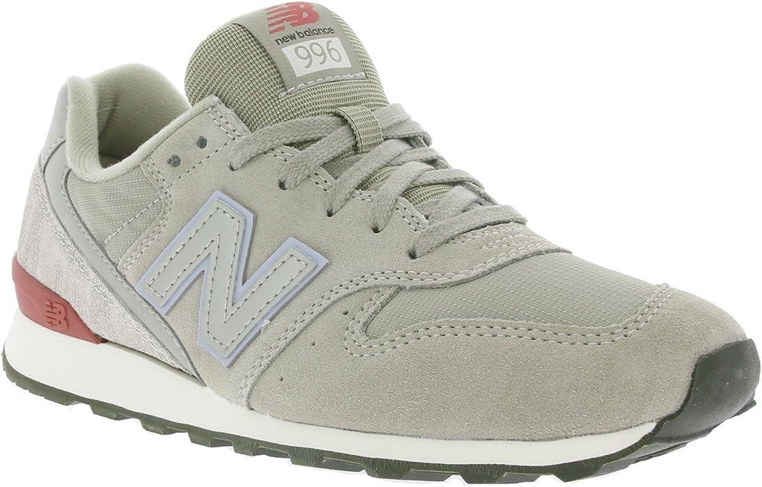 c9cba94302725 Amazon.com: New Balance 996 Womens Sneakers Grey: Clothing