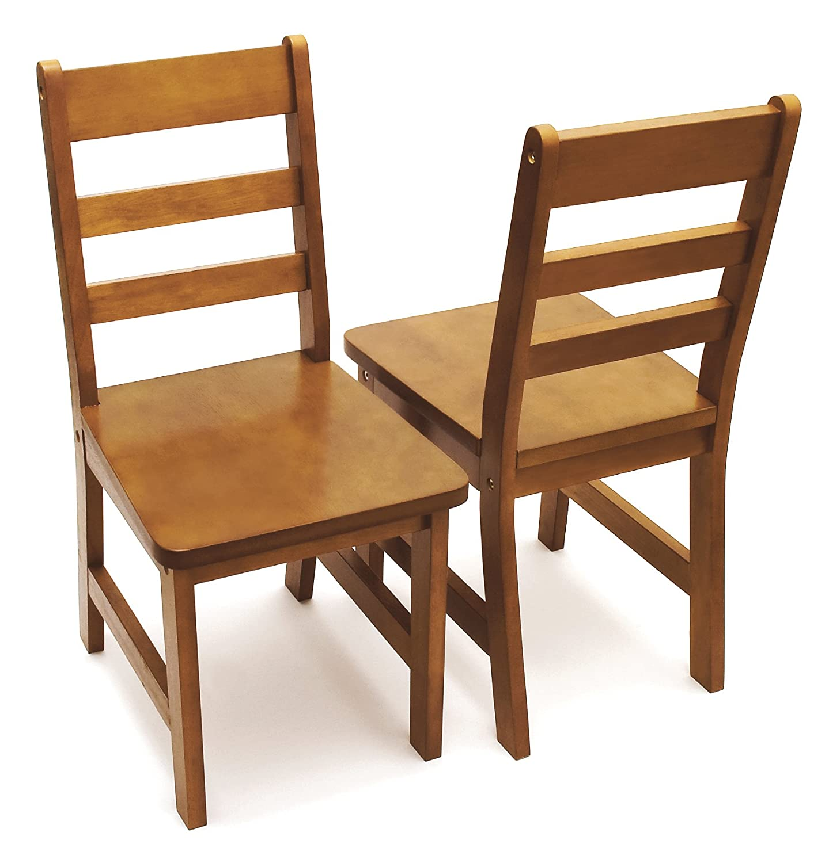 Amazon.com: Lipper Set Extra de 2 sillas Childrens: Kitchen ...