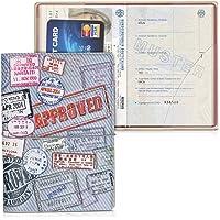 kwmobile Set de 1x fundas protectoras de pasaporte