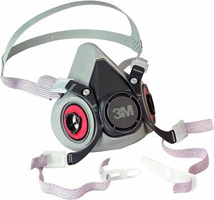 3m 6200m respiratore a semimaschera riutilizzabile