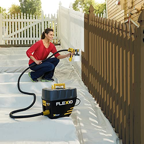 Wagner Flexio 890 is a hand held sprayer for indoor and outdoor painting